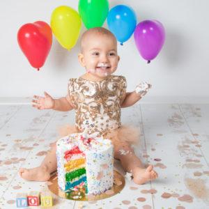 Séance Photo gâteau + bain